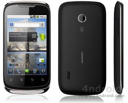 Huawei 8650, un terminal Android de gama económica disponible desde 70 euros en prepago con Yoigo