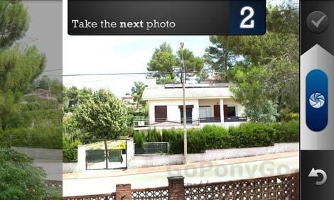 Pano, una aplicación para Android con la capturar fotos panorámicas