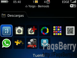 blackberry tuenti 3