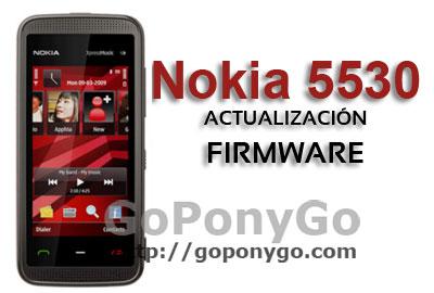 NOKIA-5530-ACTUALIZACIÓN-FIRMWARE