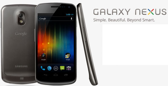 Galaxy Nexus con Android Ice Cream Sandwich 4.o