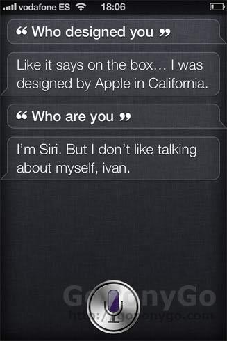 Cómo hablar con Siri en el iPhone 4S