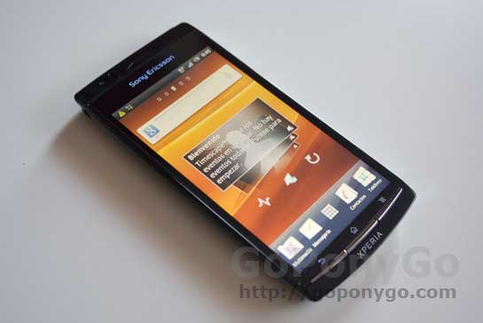 Análisis del Sony Ericsson Xperia Arc