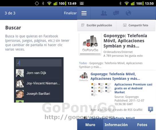 Android-Facebook-actualizacion