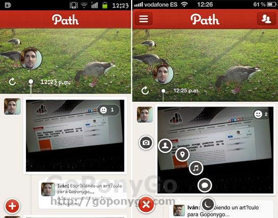 Path, red social fotográfica estilo Instagram para iPhone y Android