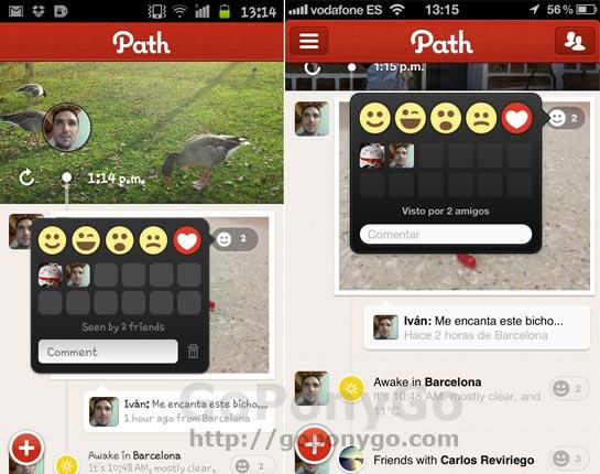 Path, una red social al estilo Instagram para Android y iPhone