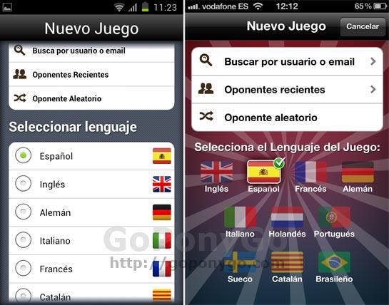 Apalabrados, un juego de palabras estilo Scrabble para iPhone y Android