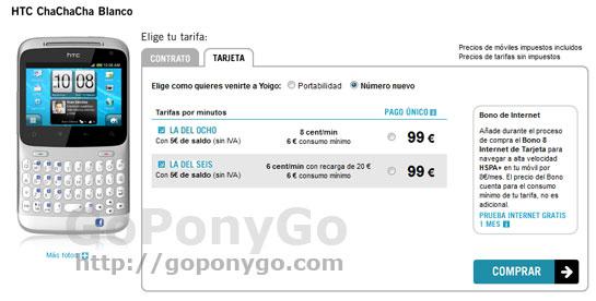 htc-chachacha-99-euros-en-prepago-yoigo