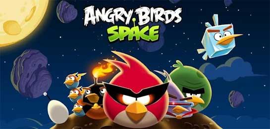Angry Birds Space de pago en Android