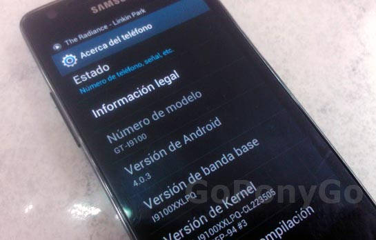 Cómo actualizar a Android Ice Cream Sandwich 4.0 el Samsung Galaxy S2