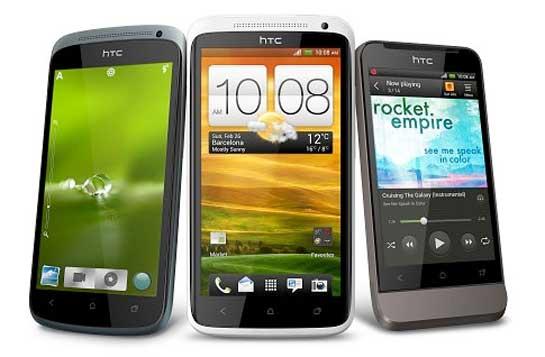 Precios de los HTC One X, One S y One V en Europa