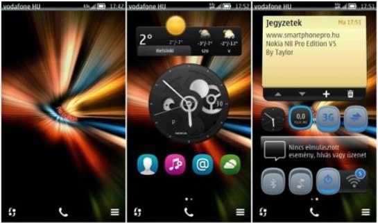No sólo Android tiene ROMS cocinadas. En Symbian hay desarrolladores