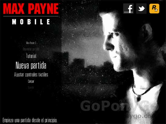 Max Payne para iPhone y iPad