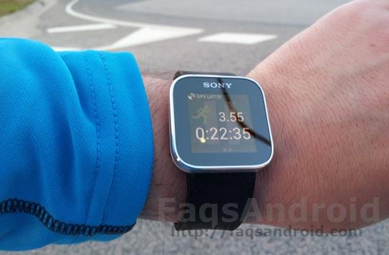 Análisis del reloj inteligente Sony SmartWatch