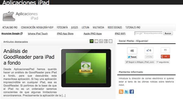 AplicacionesiPad.com
