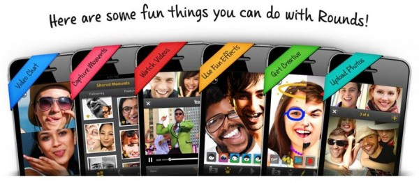 Rounds Video Chat Hangout, quedadas para móviles en iOS y Android