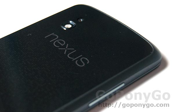 LG Nexus 4 con vídeo en HD