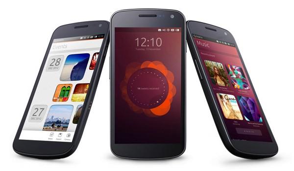 Ubuntu Phone OS tres modelos