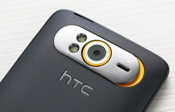 HTC HD7 cámara