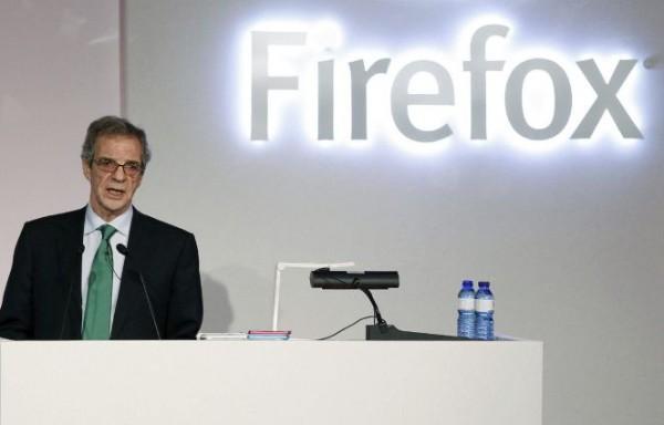 César Alierta Firefox OS