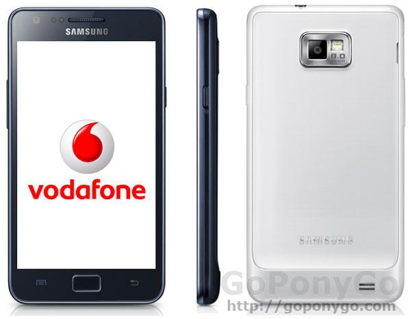 Samsung actualiza el Galaxy S2 de Vodafone España
