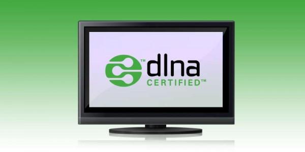 Televisor certificado DLNA