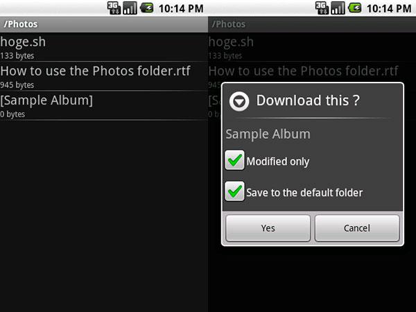 Descarga cualquier archivo de Dropbox a Android