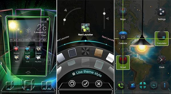 Los 5 launchers para Android más espectaculares (y caros)