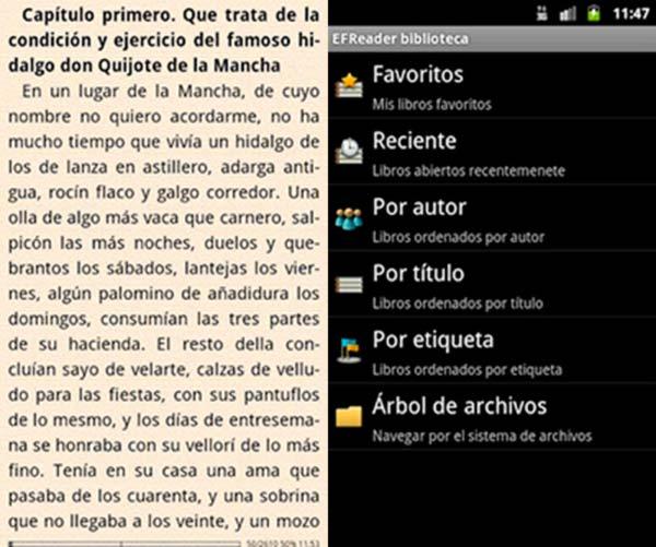 Todas las herramientas necesarias para leer en Android