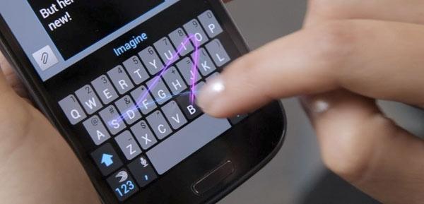 El ejemplo de SwiftKey - Black Market Android