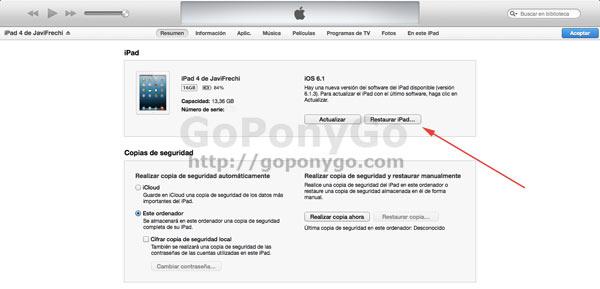 Cómo borrar los datos del iPhone o del iPad para venderlo