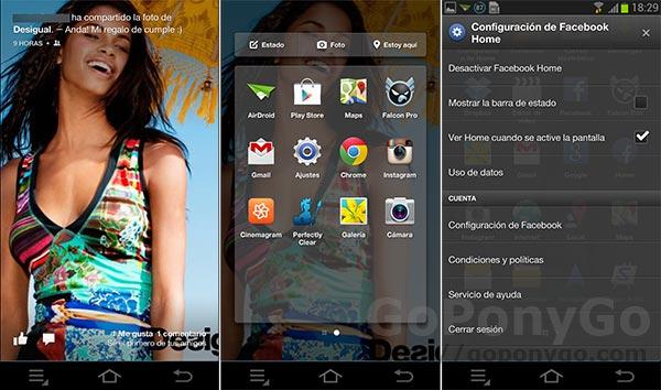Review en vídeo de la aplicación Android Facebook Home