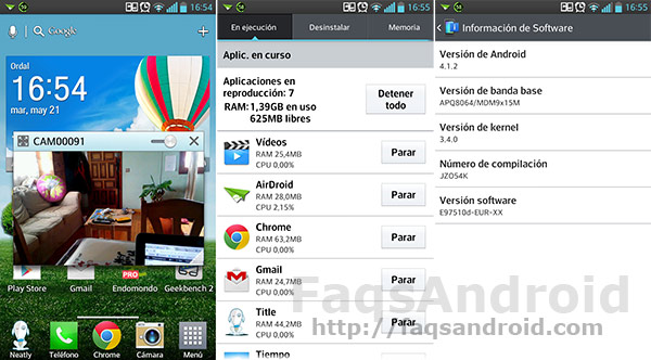 Review al LG Optimus G