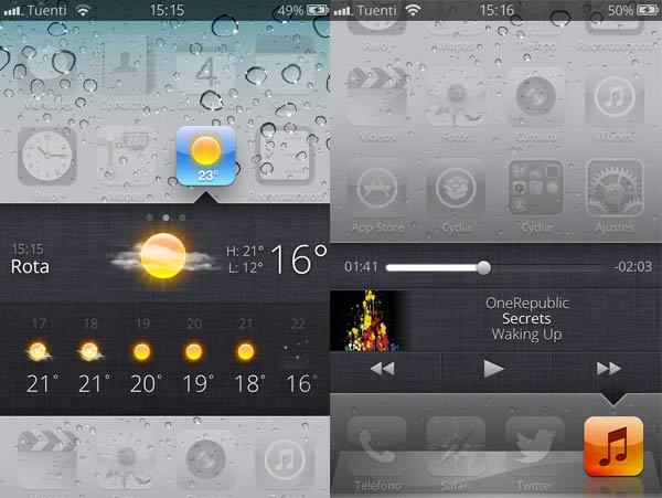 Velox, lo que puede llegar a ser iOS 7 aterriza en Cydia