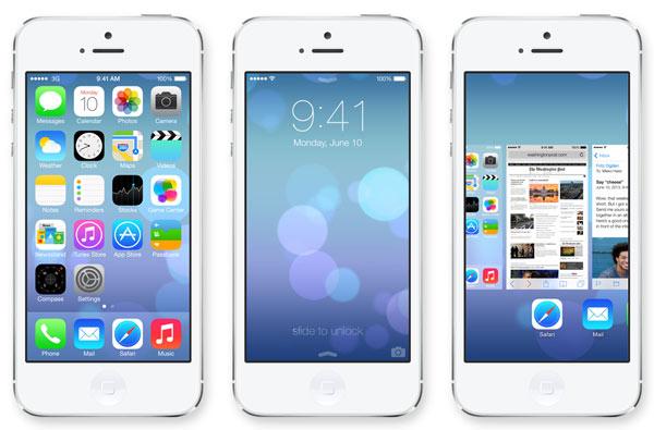 Novedades iOS 7