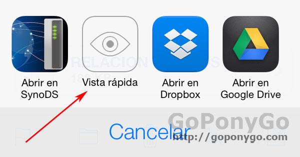 Mail en iOS 7