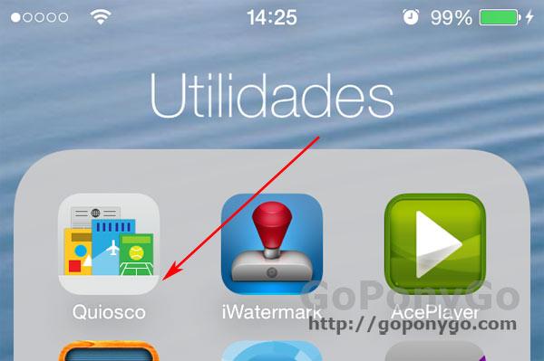 Quiosco en iOS 7