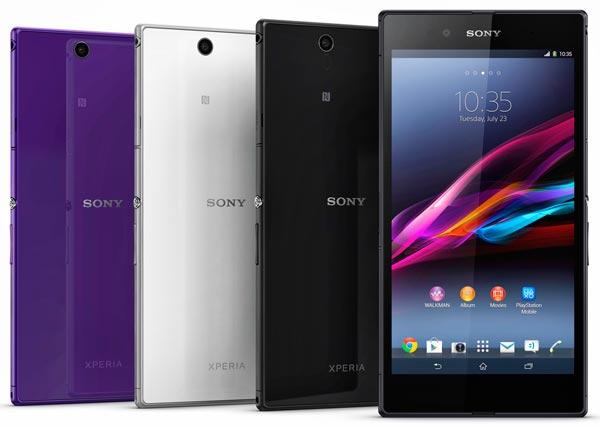 Sony presenta el phablet acuático: Sony Xperia Z Ultra